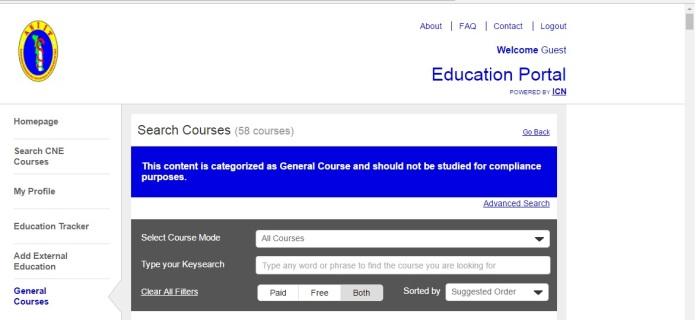 Portail de formation en ligne pour les membres 2